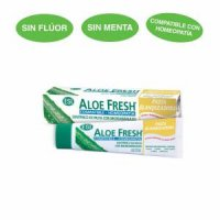 Crema dental Aloe Fresh blanqueadora 100 ml