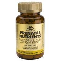 Nutrientes prenatales comprimidos