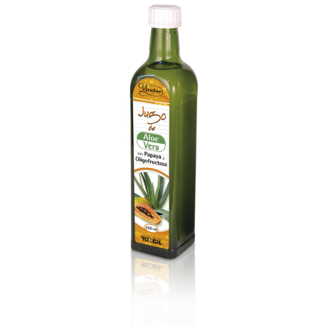 Jugo de Aloe Vera con Papaya 500 ml