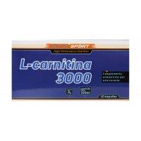 L-Carnitina 3000 mg 10 ampollas