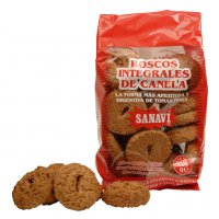 Galletas integrales de canela 400 g