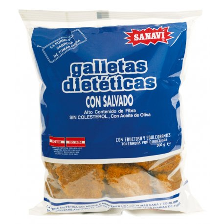 galleta salvado sanavi