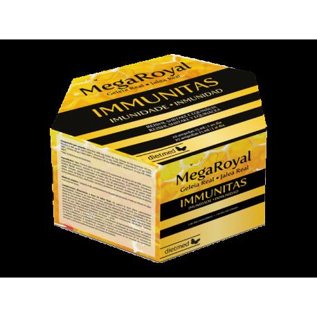MegaRoyal Immunitas 20 ampollas